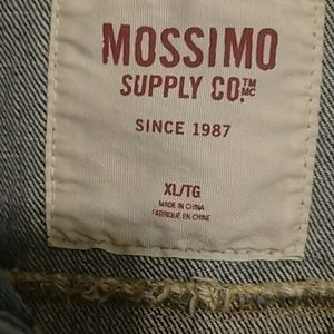 Mossimo Supply Co. Jackets & Coats - Distressed denim vest. Sz XL